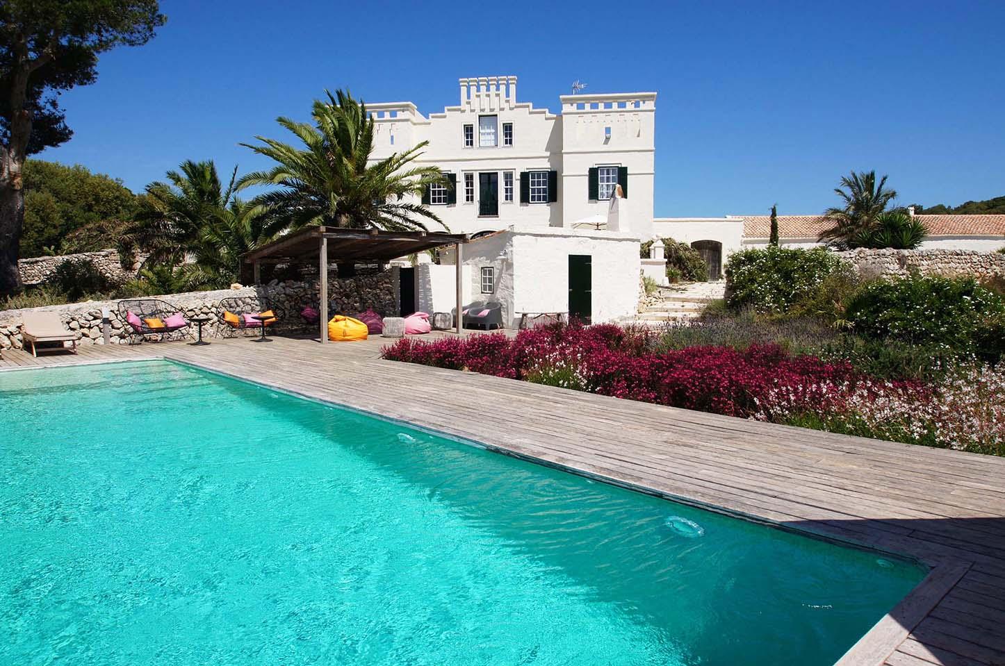Villa 5 étoiles exclusive et privée à louer à Minorque