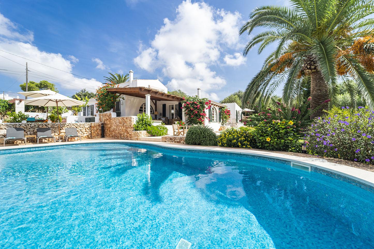 Vacances en villa de luxe à Minorque