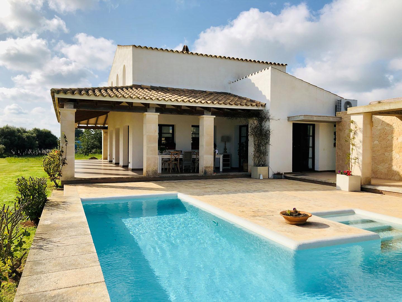 Villa à louer à Binidali Menorca avec 3 chambres