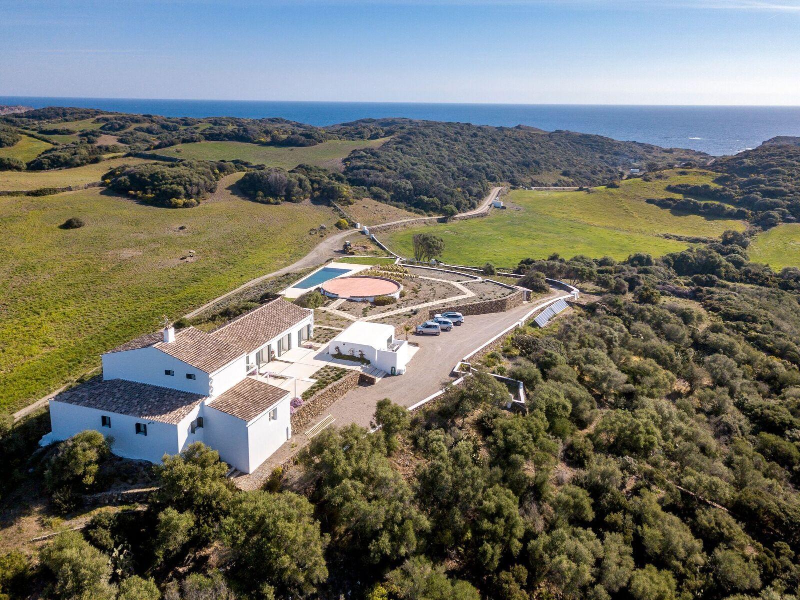 Domaine de luxe avec plage privée